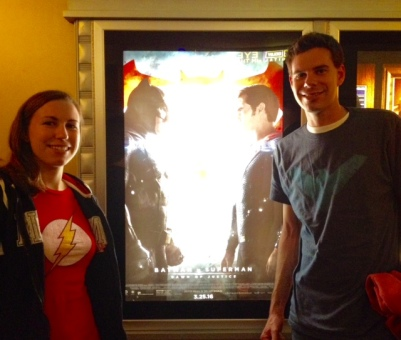 Me and the bro, DC-in it up for Dawn of Justice